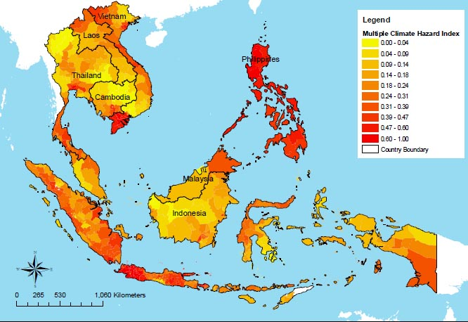 Climate Map SE Asia
